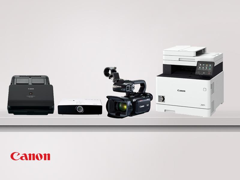 Canon ürünleri Asil Bilişim'de